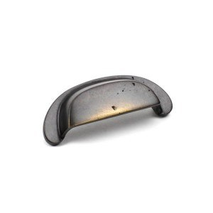 Century Hardware 19545 Whistler Collection Cast Bronze Cup Pull 3-1/2 Inches Center to Center
