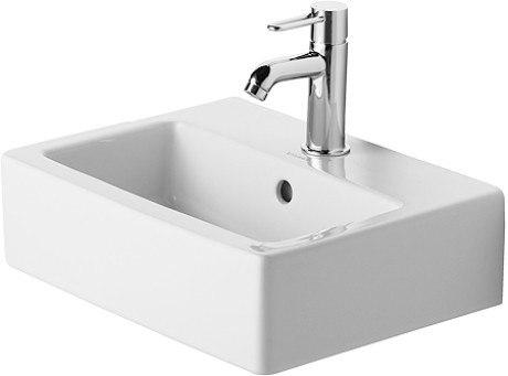 Duravit 070445 Vero 17-3/4 x 13-3/4 Inch Furniture Wash Basin with Overflow