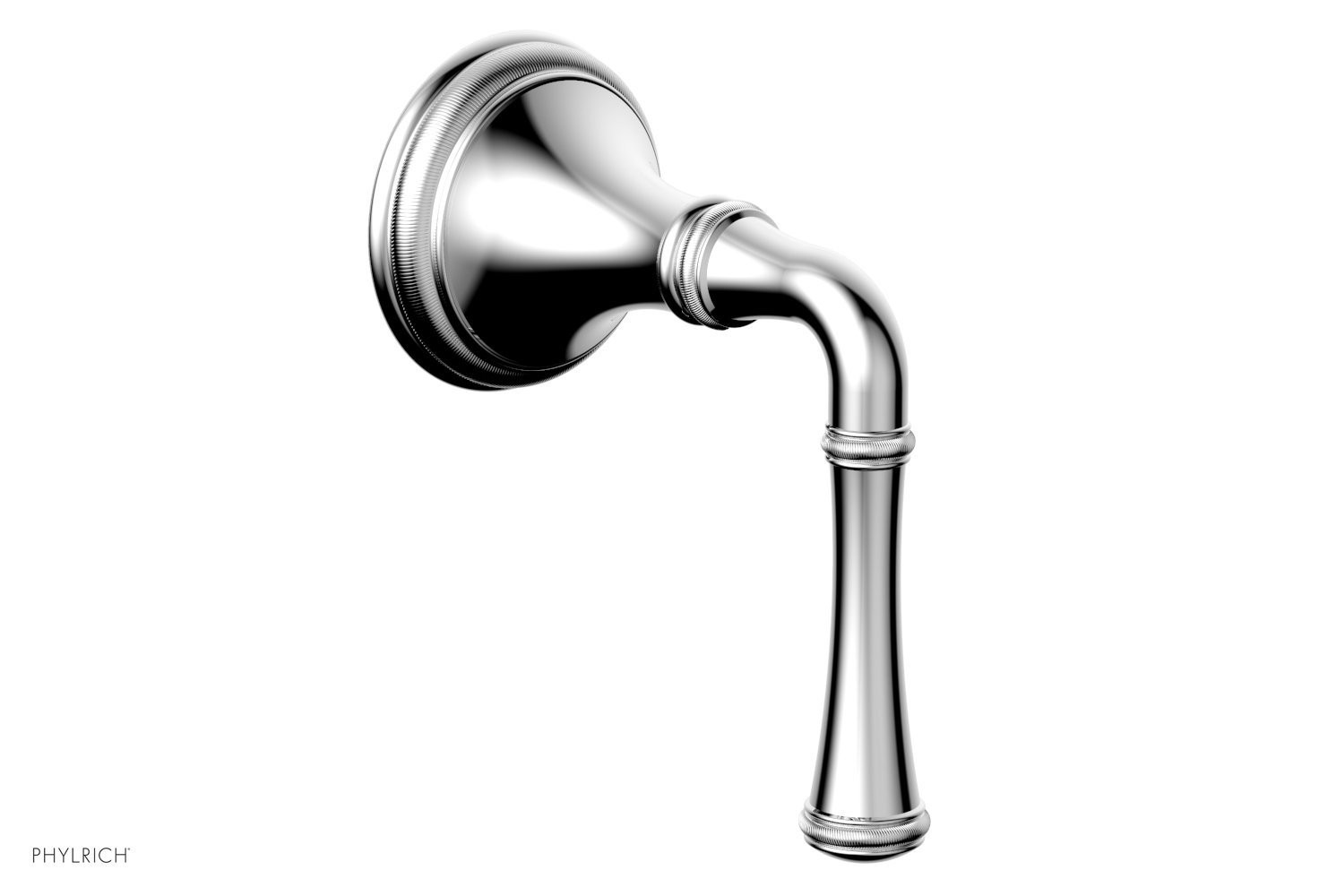 PHYLRICH 208-35 COINED WALL MOUNT LEVER HANDLE VOLUME CONTROL OR DIVERTER TRIM