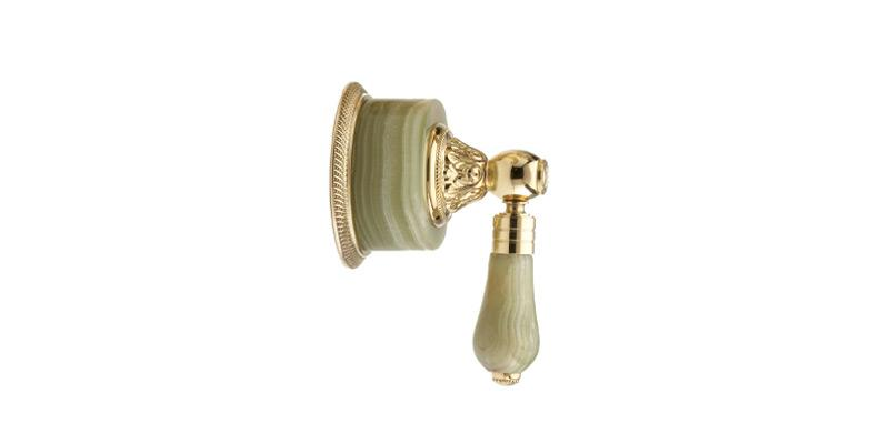 PHYLRICH 2PV240A VERSAILLES GREEN ONYX LEVER HANDLE VOLUME CONTROL OR DIVERTER TRIM