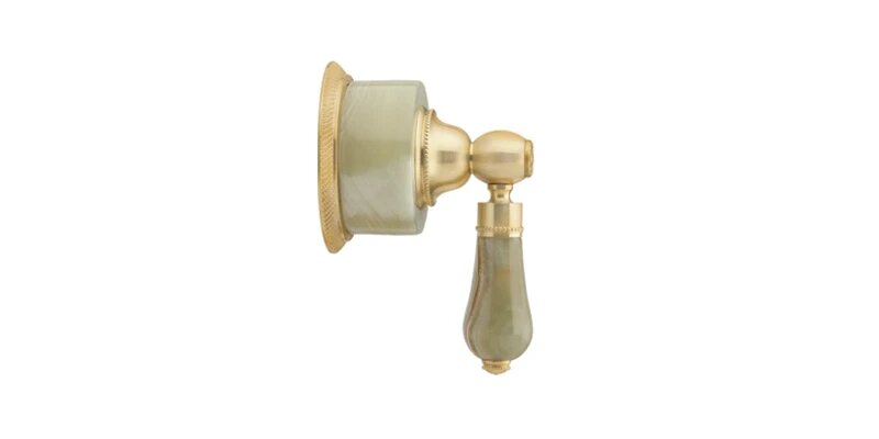 PHYLRICH 2PV270A REGENT GREEN ONYX LEVER HANDLE VOLUME CONTROL OR DIVERTER TRIM