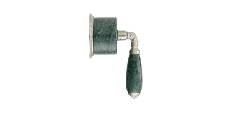 PHYLRICH 2PV338FA VALENCIA GREEN MARBLE LEVER HANDLE VOLUME CONTROL OR DIVERTER TRIM