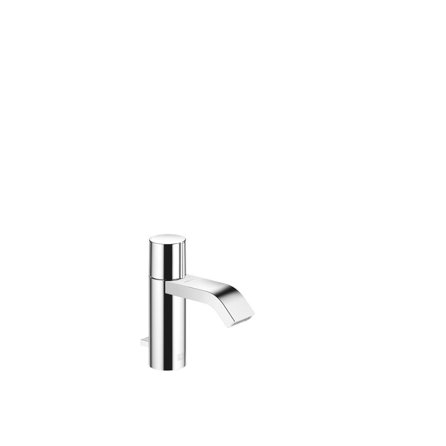 DORNBRACHT 33507670-0010 IMO 5 7/8 INCH SINGLE HOLE DECK MOUNT LAVATORY MIXER WITH DRAIN AND KNOB HANDLE