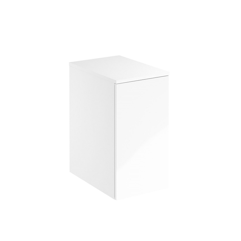 ROYO 125946 ONIX 12 INCH SIDE UNIT IN WHITE WITH 1 DOOR