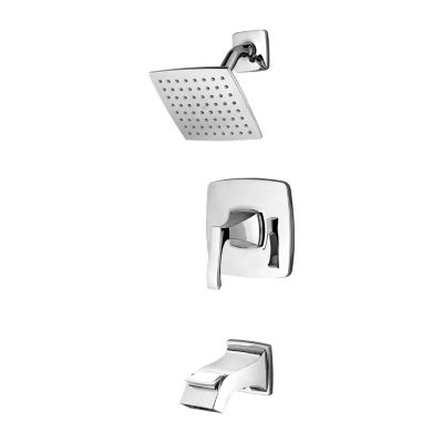 PFISTER 8P8-WS2-VNSC VENTURI WALL MOUNT TUB AND SHOWER FAUCET WITH LEVER HANDLE - POLISHED CHROME
