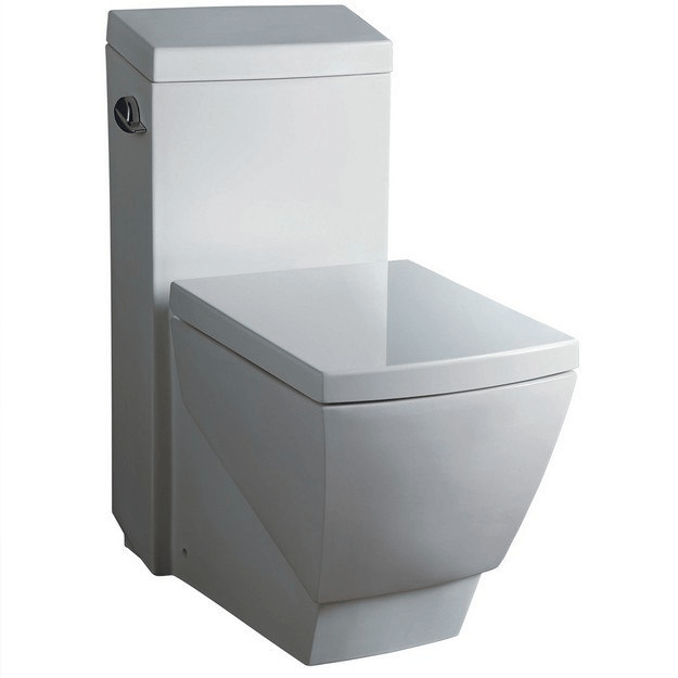 FRESCA FTL2336 APUS ONE-PIECE SQUARE TOILET WITH SOFT CLOSE SEAT