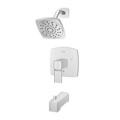 PFISTER LG89-8DA DECKARD WALL MOUNT TUB AND SHOWER TRIM WITH BLADE HANDLE