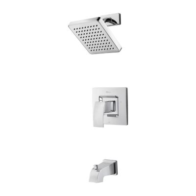 PFISTER LG89-8DF KENZO WALL MOUNT TUB AND SHOWER TRIM KIT WITH BLADE HANDLE