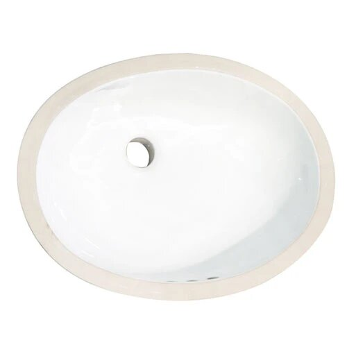 Barclay 4 733 Rosa 19 1 2 Inch Single Basin Undermount Bathroom Sink 4 733wh 4 733bq 4 733wh Dg 4733wh 4733bq 4733whdg