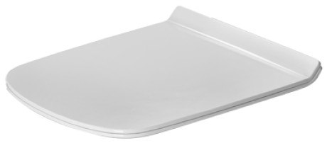 Duravit 0060590000 DuraStyle Toilet Seat and Cover With Slow Close