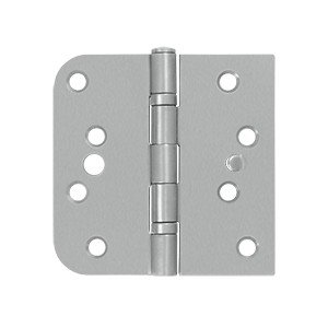 DELTANA SS44058B32D-LH-S 4 X 4 X 5/8 INCH SQUARE HINGE LEFT-HANDED STAINLESS STEEL