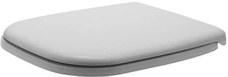 Duravit 0067410000 D-Code Toilet Seat and Cover, Elongated without SoftClose