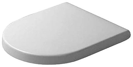 Duravit 0063890000 Starck 3 Toilet Seat and Cover with SoftClose