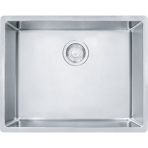 FRANKE CUX11023 CUBE 24-5/8 INCH UNDERMOUNT SINGLE BOWL STAINLESS STEEL KITCHEN SINK
