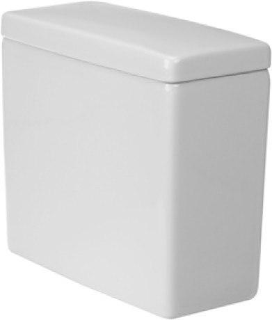 Duravit 0920400004 Starck 3 15-3/8 x 7-1/8 Inch Cistern for 212501 Toilet Bowl