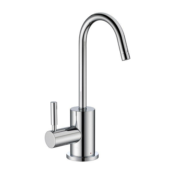 Whitehaus WHFH-H1010 Point of Use Instant Hot Water Faucet with Self Closing Handle