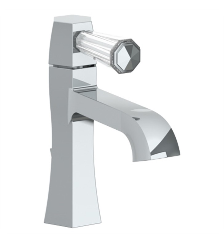 WATERMARK 314-1.15 BEVERLY 6 1/4 INCH SINGLE HOLE DECK MOUNT BATHROOM FAUCET WITH LEVER HANDLE