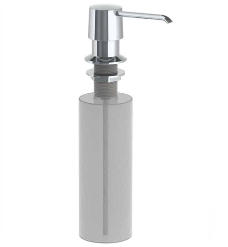 WATERMARK MLD1 2 3/8 INCH DECK MOUNT KITCHEN SOAP DISPENSER
