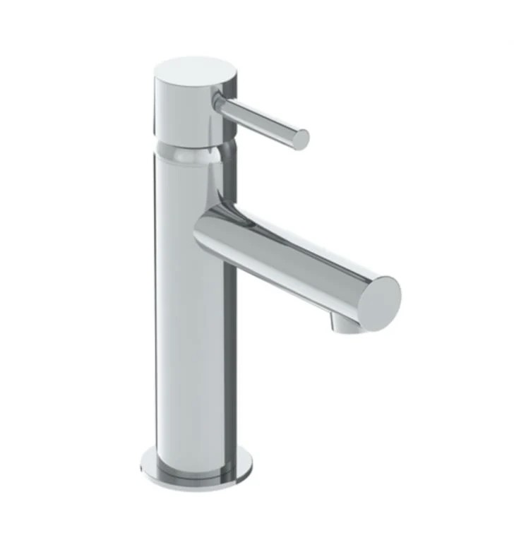 WATERMARK SYD-1.15-L8 SYDNEY 7 7/8 INCH SINGLE HOLE DECK MOUNT BATHROOM FAUCET WITH LEVER HANDLE