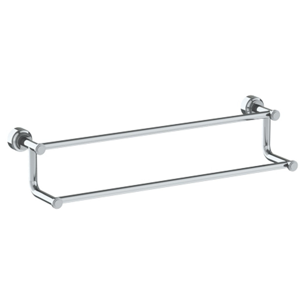WATERMARK 29-0.2A TRANSITIONAL 24 INCH WALL MOUNT DOUBLE TOWEL BAR