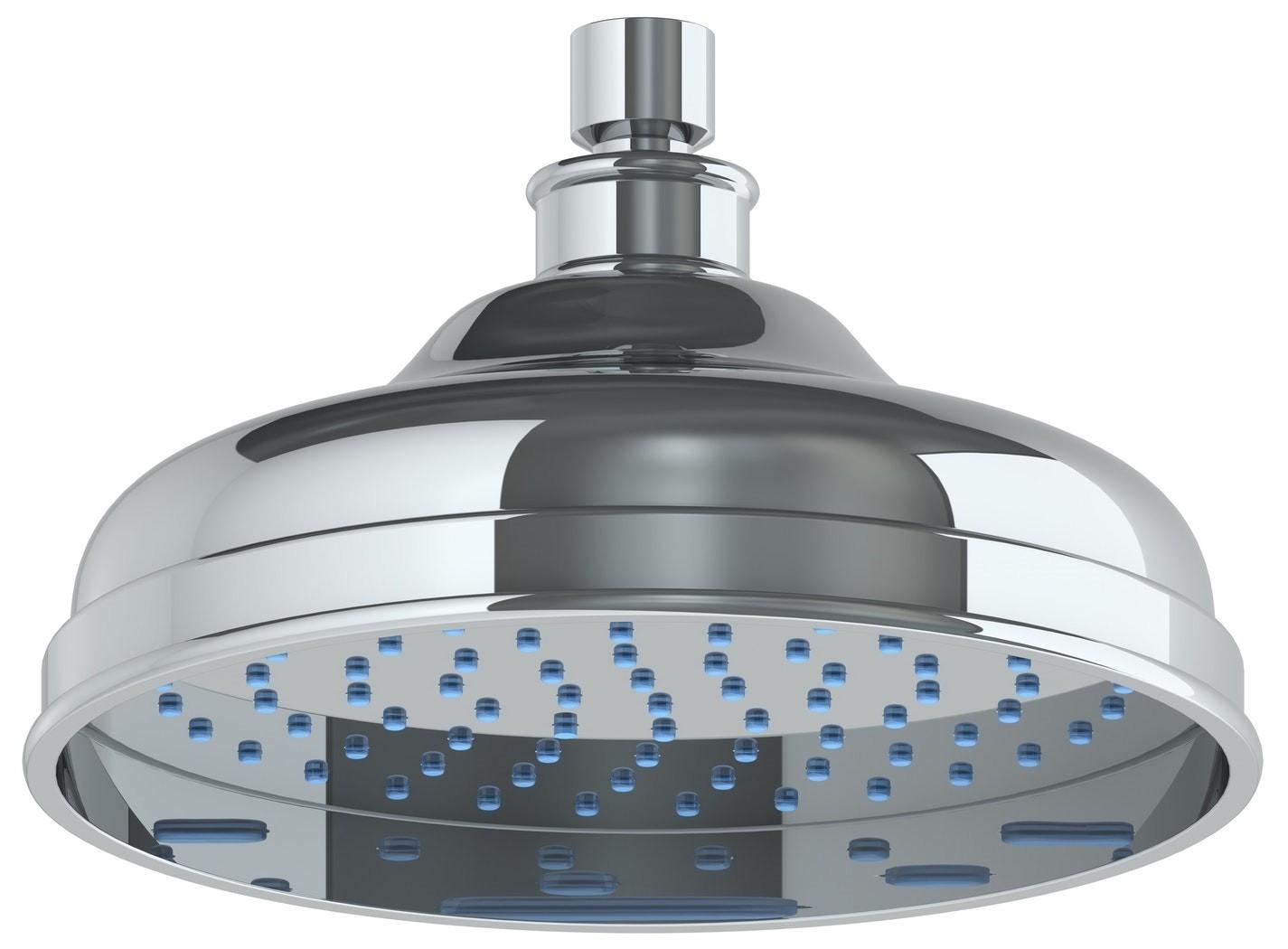 WATERMARK SH-RH075 8 INCH CEILING MOUNT SINGLE-FUNCTION ROUND SHOWER HEAD