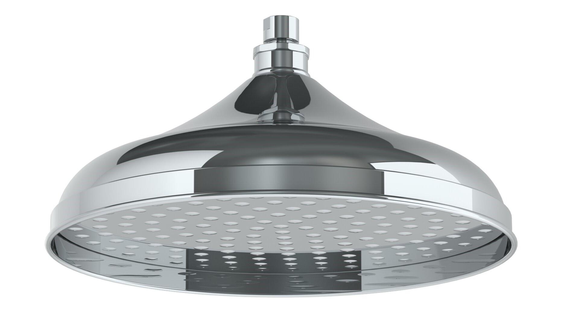 WATERMARK SH-RH080 11 3/4 INCH CEILING MOUNT SINGLE-FUNCTION ROUND SHOWER HEAD