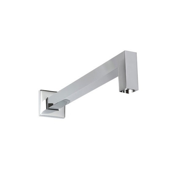 THERMASOL 15-1004 16 INCH WALL MOUNT SHOWER ARM WITH SQUARE FLANGE