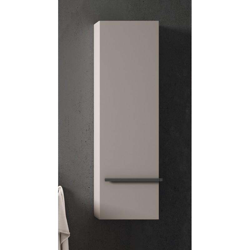 LUCENA BATH 3908 SCALA 13 INCH TALL UNIT WITH LEFT SIDE DOOR IN QUARZO