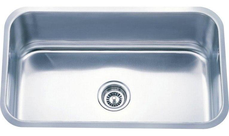 Dowell USA 6001 3018  Undermount Series 30 Inch Undermount Kitchen Sink