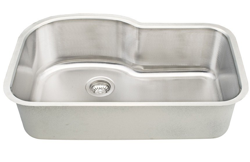 Dowell USA 6001 3121 Undermount Series 31 Inch Undermount Kitchen Sink - 18 Gauge