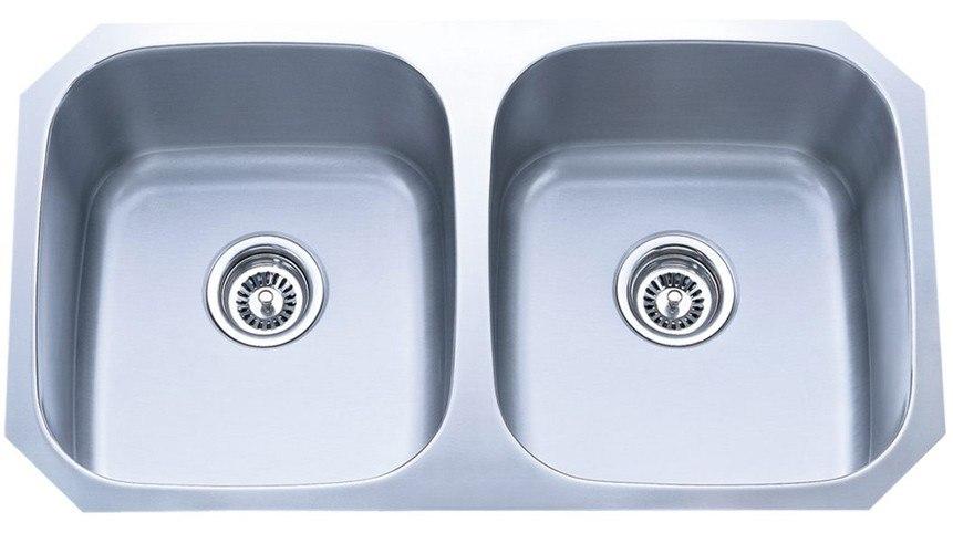 Dowell USA 6001 3218 Undermount Series 32 Inch Undermount Kitchen Sink