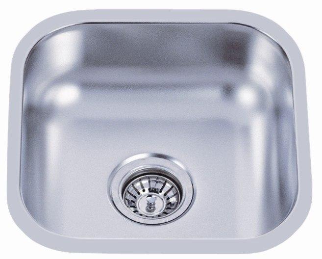 Dowell USA 6001 1616 Undermount Series 16 Inch Undermount Kitchen Sink