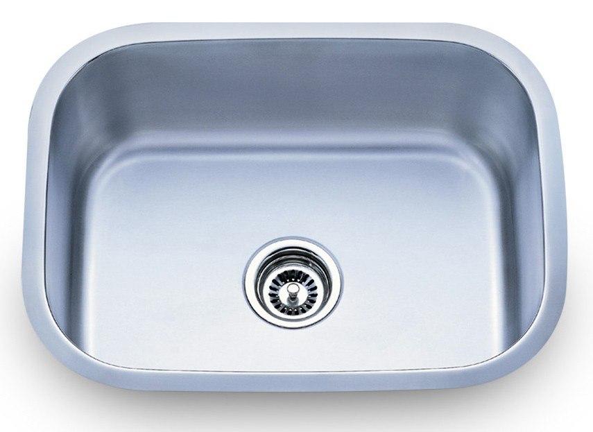 Dowell USA 6001 2317T Undermount Series 23 Inch Undermount Kitchen Sink - 16 Gauge