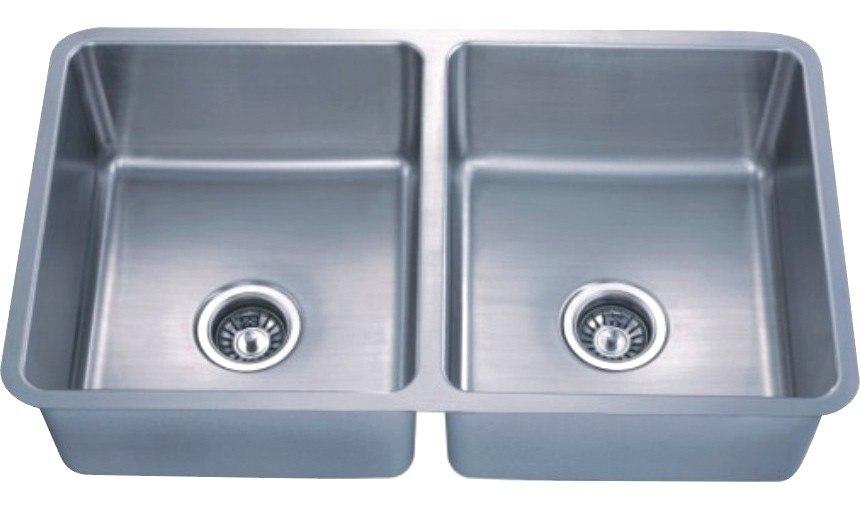 Dowell USA 6005 3019 Handcrafted Small-Radius Corner (R25 Series) 30 Inch Undermount Kitchen Sink