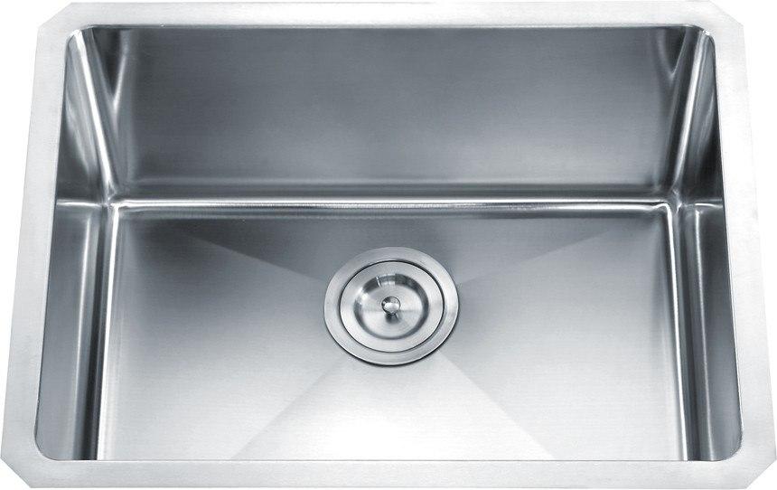 Dowell USA 6008 2318 Handcrafted Small-Radius Corner Series 23 Inch Undermount Kitchen Sink