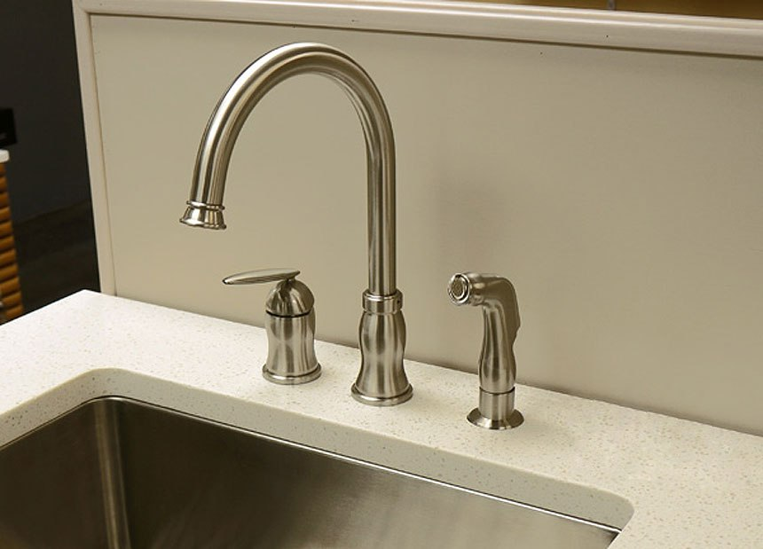 DOWELL USA 8002 012 SINGLE HANDLE KITCHEN FAUCET