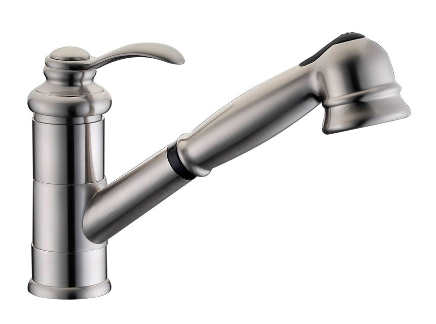DOWELL USA 8002 002 SINGLE HANDLE PULL OUT KITCHEN FAUCET