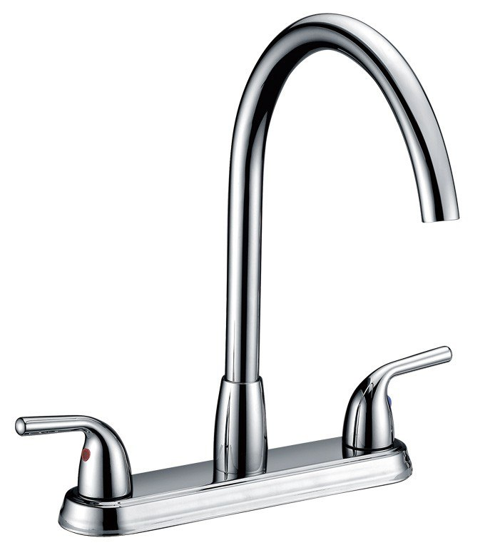 Dowell USA 8002 003 01 Double Handle Kitchen Faucet, Dowell USA 8002 ...
