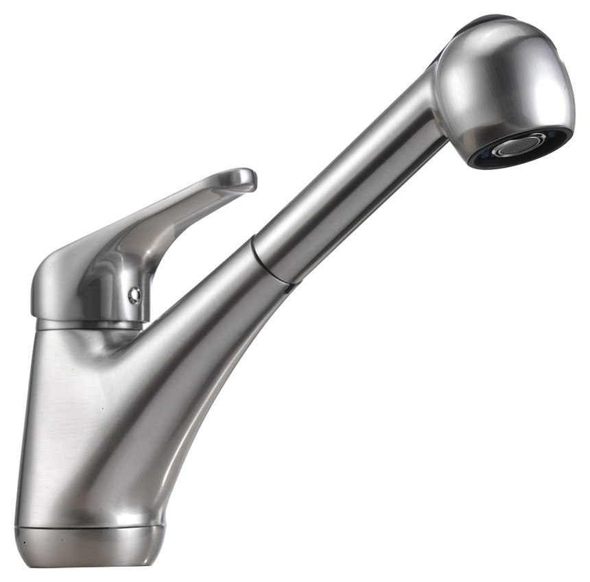 DOWELL USA 8002 009 SINGLE HANDLE PULL OUT KITCHEN FAUCET