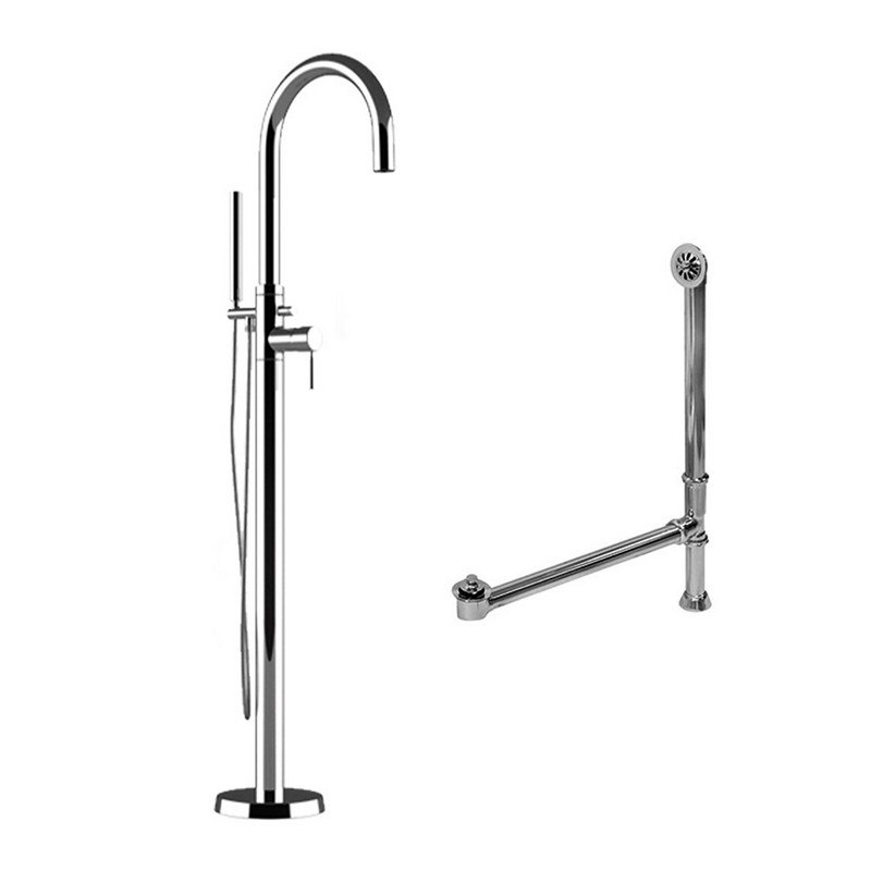 Grohe 32135003 Atrio Free Standing Tub Faucet In Chrome