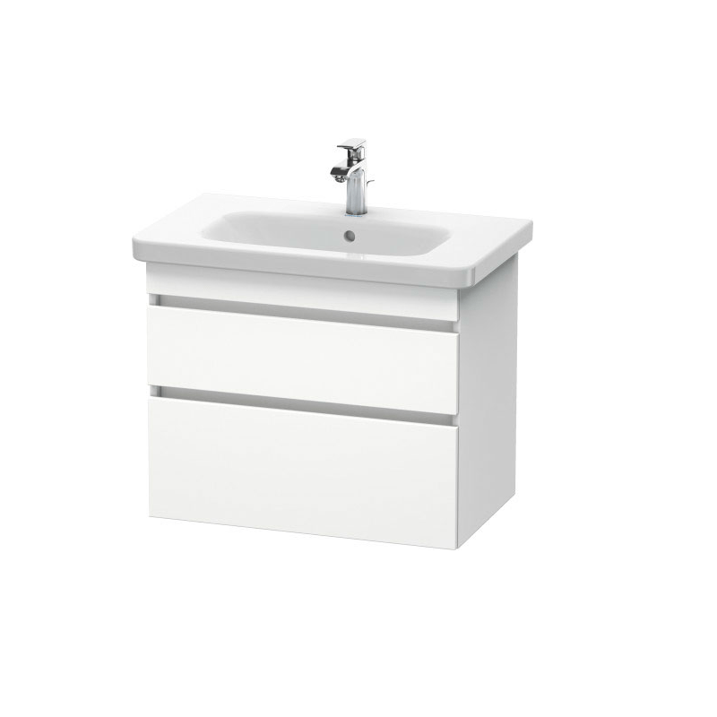 DURAVIT DS6481 DURASTYLE 28-3/4 X 17-5/8 INCH VANITY UNIT WALL-MOUNTED FOR 232080 DURASTYLE WASHBASIN