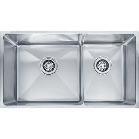 Franke PSX120309 31 Inch 'Professional Series' Undermount Double Bowl Stainless Steel Sink 16-Gauge
