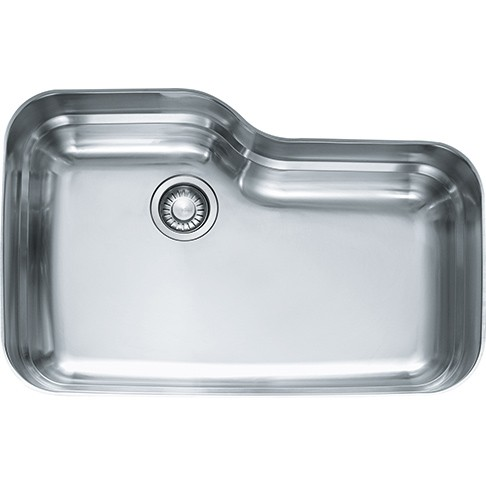 FRANKE ORX110 31 INCH ORCA UNDERMOUNT SINGLE BOWL SINK, STAINLESS STEEL