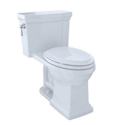 TOTO MS814224CEFG PROMENADE II ONE PIECE ELONGATED 1.28 GPF TOILET WITH CEFIONTECT - SOFTCLOSE SEAT INCLUDED