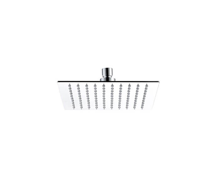 MOUNTAIN PLUMBING MT11-8 MOUNTAIN REVIVE 8 INCH CEILING MOUNT SINGLE-FUNCTION SQUARE RAIN SHOWER HEAD