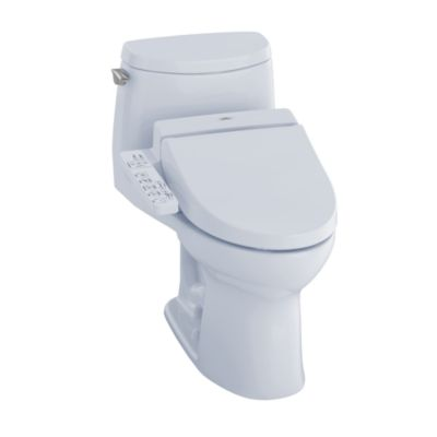 TOTO MW6042034CUFG#01 ULTRAMAX II 1G CONNECT + C100 ONE PIECE TOILET - 1.0 GPF WITH SANAGLOSS