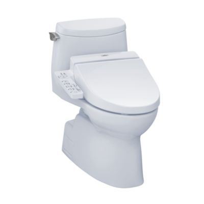 TOTO MW6142034CUFG#01 CARLYLE II 1G CONNECT+ C100 ONE-PIECE TOILET, 1.0 GPF WITH SANAGLOSS