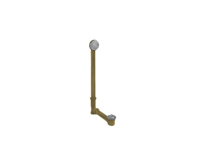 MOUNTAIN PLUMBING HBDWLT45 26 TO 34 INCH ECONOMY LIFT AND TURN TRIM KIT STYLE BATH WASTE AND OVERFLOW DRAIN