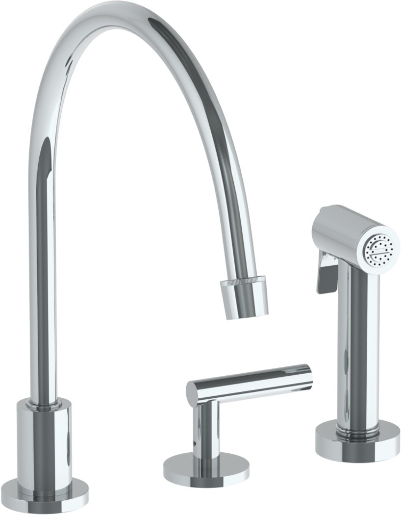 Virtu Usa Psk 601 Pc Thellion 8 In Widespread 2 Handle Kitchen Faucet Virtu Usa Psk 601 Bn Thellion 8 In