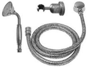 SONOMA FORGE SF-10-255 8 3/4 INCH WALL MOUNT SINGLE-FUNCTION HAND SHOWER KIT WITH LARGE FACED HAND WAND
